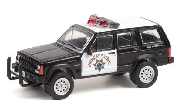 42960 b - 1993 Jeep Cherokee - California Highway Patrol