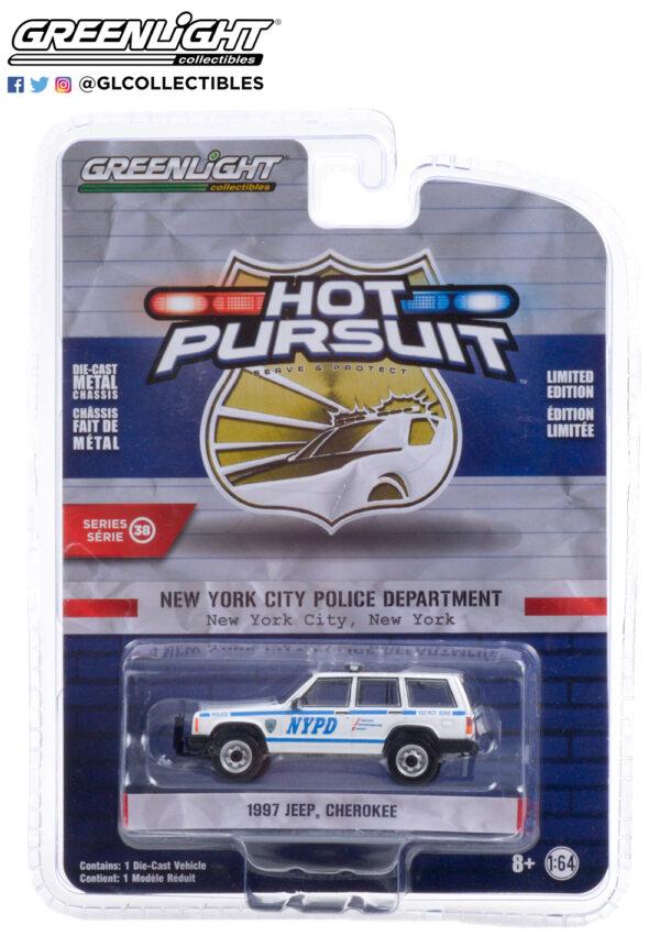 42960 c 1997 jeep cherokee new york city police dept nypd pkg b2b - 1997 Jeep Cherokee - New York City Police Dept (NYPD)