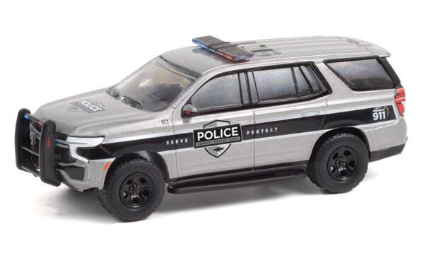 42960 f - 2021 Chevrolet Tahoe Police Pursuit Vehicle (PPV) - General Motors Fleet - Satin Steel Metallic