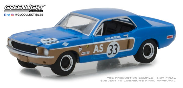 43108872754 6a48739983 o 1 - Ford Racing Heritage Series 2 - 1968 Ford Mustang #33 John McComb Trans-Am Continental Divide