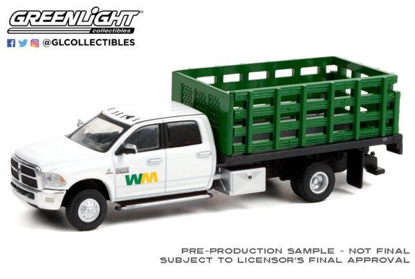 46070 e 2018 ram 3500 dually stake truck waste mangement deco b2b - 2018 DODGE Ram 3500 Dually Stake Truck - Waste Management