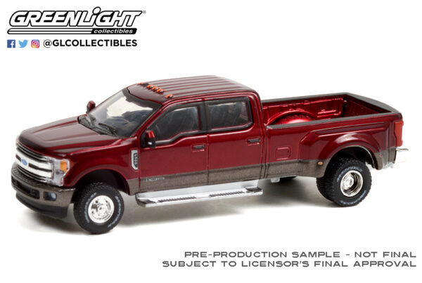 46070 f 2019 ford f 350 dually ruby red and stone gray deco b2b - 2019 Ford F-350 Dually - Ruby Red and Stone Gray