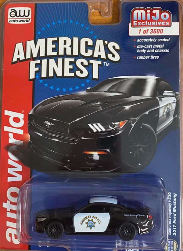 cp7475 1 - 2017 FORD MUSTANG - CALIFORNIA HIGHWAY PATROL - MIJO EXCLUSIVES
