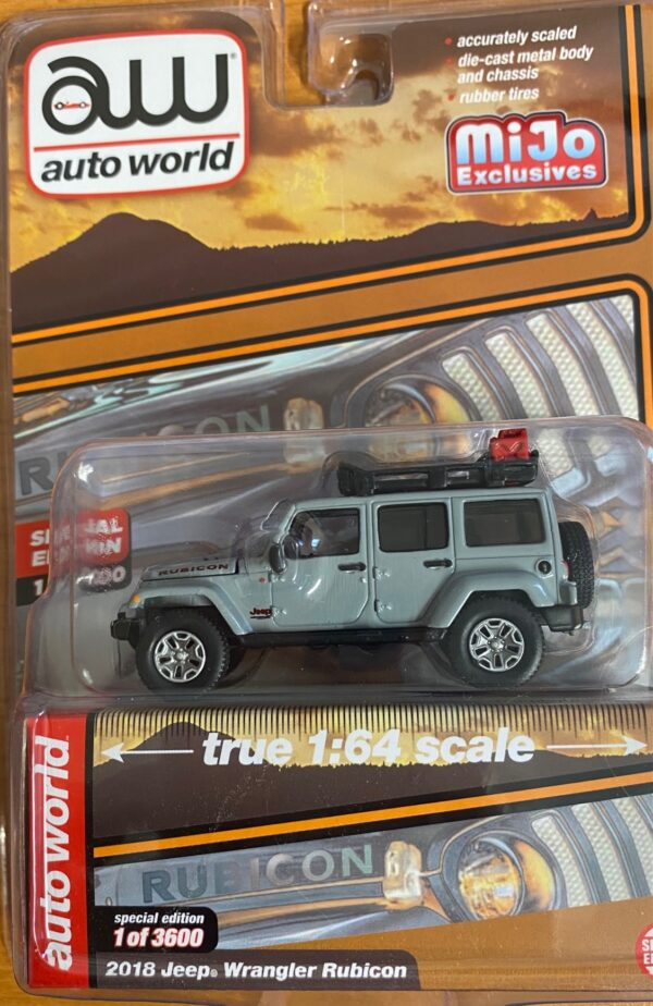 cp7717a - 2018 JEEP WRANGLER RUBICON W/ROOF RACK