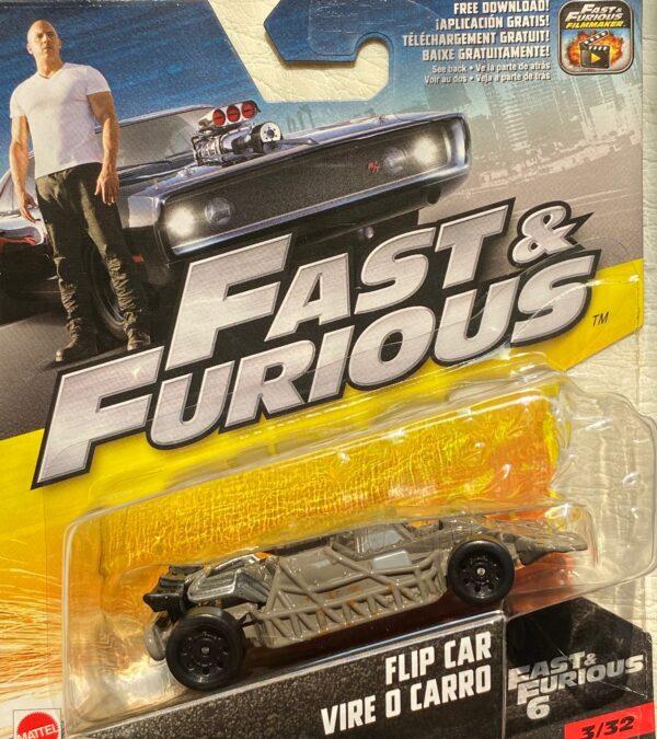 fcf38 - FLIP CAR VIRE O CARRO - FAST & FURIOUS 6 - 1:55 SCALE #3/32