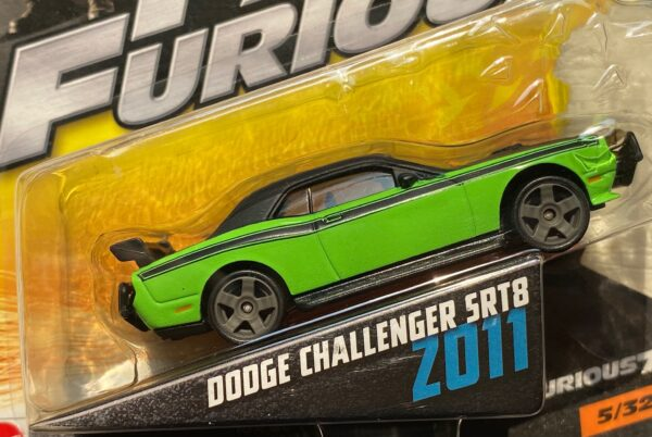 fcf40 1 - 2011 DODGE CHALLENGER SRT8 - FAST & FURIOUS - FURIOUS 7 IN 1:55 SCALE #5/32