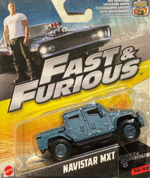 fcf45 - NAVISTAR MXT - FAST & FURIOUS 6 - 1:55 SCALE #10/32