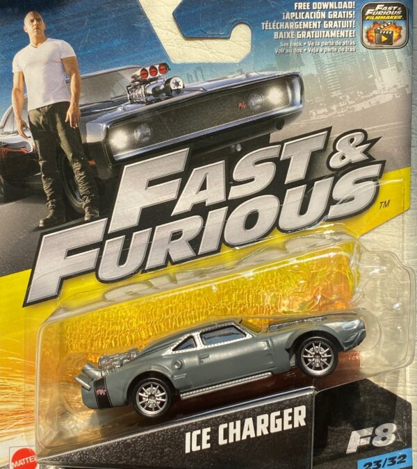 fcf58 - ICE CHARGER FROM F8 (FAST & FURIOUS) IN 1:55 SCALE #23/32