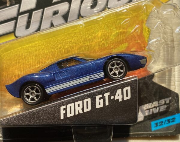 fcn88 1 - FORD GT-40 - FAST & FURIOUS - FAST FIVE 32/32 IN 1:55 SCALE