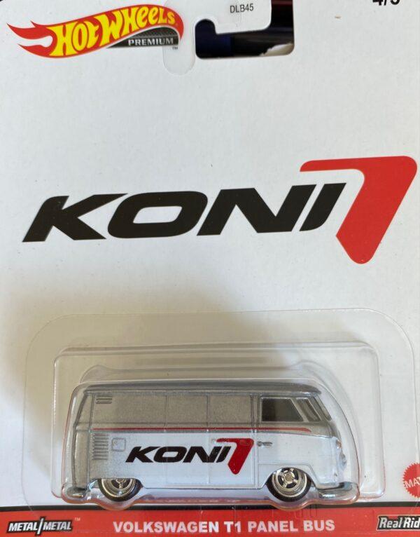 grl28 - VOLKSWAGEN T1 PANEL BUS - KONI (Hot Wheels 1:64 Pop Culture 2021 ''K'' Case)